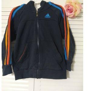 Adidas  hoddie Jacket  for boys 5-6Y.